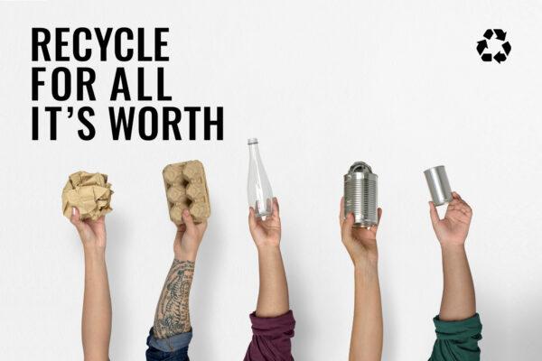 Recyklovatelný neznamená vždy recyklovaný